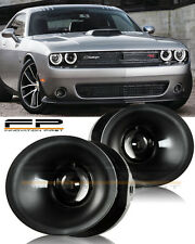 15 16 17 DODGE CHALLENGER Fog Light Driving Lamp Kit w/ switch wiring (CLEAR)