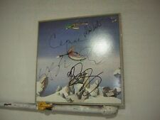 Yes Signed LP Shows 1980 By 5 Musicians