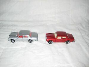 VNM 1979 Matchbox #39 Rolls Royce Silver Shadow II Lot with Silver & Maroon Cars