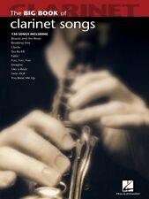 Big Book of Clarinet Songs Instrumental Folio Book NEW 000842208