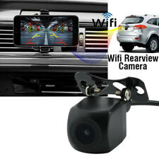Waterproof Car Wifi Rear View Reverse Backup Camera 150° For iPhone Android ios