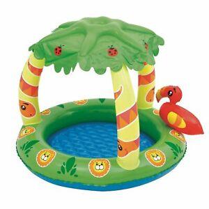 Bestway Kinderplanschbecken Kinder Pool Schwimmbecken 50+ UV Schutz Baby
