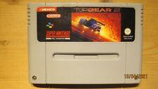TOP Gear 2 für SNES Super Nintendo. Wagen NUR. PAL.
