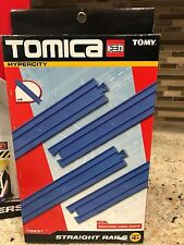 Tomy Tomica 70531 Hypercity Straight Rails Track Expansion Set - New & Sealed