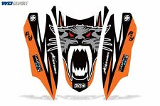 Decal Graphic HOOD Kit Arctic Cat Firecat/Sabercat Sled Snowmobile NOSE Wrap O