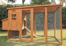 "Pets Imperial Large 8ft 2"" Chicken Coop Hen Poultry Ark House Hutch Run Nest"