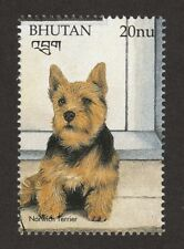 Norwich Terrier * Int'l Dog Postage Stamp Art Collection * Great Gift Idea *