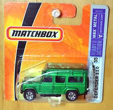 Matchbox '97 Land Rover Defender 110 [VHTF Metallic Green] - New/Sealed/RARE