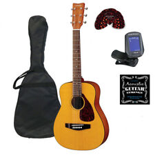 Yamaha JR1 3/4 Junior Acoustic Guitar Bundle FREE Clip-On Tuner, Picks & Strings