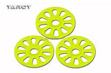3pcs Tarot 450 parts TL45155 Main gear /straight teeth yellow/white trex 450
