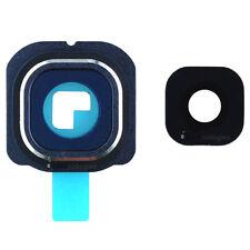 Samsung Galaxy S6 edge G925F objectif de caméra verre cadre bleu
