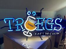 Troegs Beer Craft Brewer Sign Neon Light Used Works