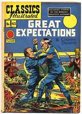 CLASSICS ILLUSTRATED #43 (HRN 62) G, Great Expectations by Charles Dickens