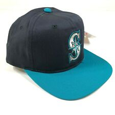 Seattle Mariners Snapback Hat Cap Navy Blue Teal Youth Kids Size New Era NWT