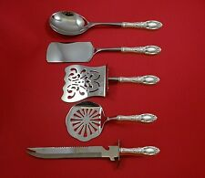 King Richard by Towle Sterling Silver Brunch Serving Set 5pc Set HHWS  Custom