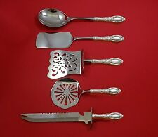 King Richard by Towle Sterling Silver Brunch Serving Set 5pc HHWS Custom