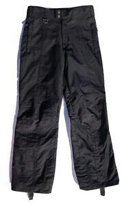 SPYDER Snowboard BLACK INSULATED Ski SNOW PANTS  Size M EUC