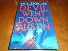A Tres Navarre Mystery: The Devil Went down to Austin Inscribed, Rick Riordan