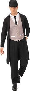 Peaky Blinders Shelby Brummie Birmingham 1920s Gangster Mens Fancy Dress Costume