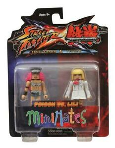 Street Fighter X Tekken Minimates Figure 2 Pack Poison vs Lili