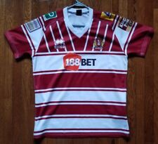 Wigan Warriors Rugby League Shirt Jersey Errea, L