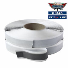 """Butyl Seal Tape Rv Putty Rubber Sealant 1/8"""" x 3/4"""" x 30Ft Motorhome Lcw 2 Pack"""