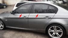 EDELSTAHL FENSTERLEISTEN CHROM für BMW 3ER E90 | BJ 2005-2011 | 4TLG SET POLIERT