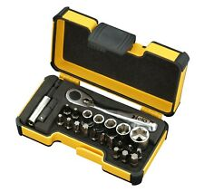 FELO XS 23pcs. Pocket Size Tool Set, Ratchet, Sockets & Bits, Made in Germany