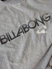 Billabong Boy's Graphic LogoLong Sleeve T-Shirt - Grey Skate/Surf Sz Lg- J001z