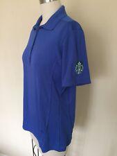 Starbucks Uniform Shirt Women's Size Small Blue Sport Wicking Princess Seam
