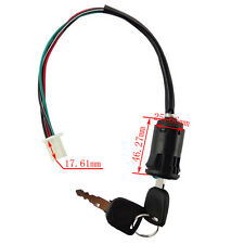 4 Wire Ignition Key Switch For ATV Buggy PIT Quad Dirt Bike Motorcycle