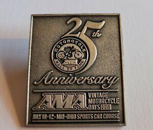 AMA Vintage Motorcycle Days Pin 2015