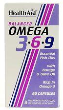 HEALTH AID OMEGA 3 6 9 - 60 CAPSULES