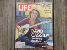 David Cassidy Life Magazine Oct. 29, 1971 Patridge Family, Pablo Picasso 90th