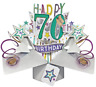 New 3D Pop Up Card 70th Birthday Awesome Greeting Cards Keepsake Gift