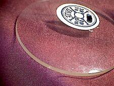 Uhrenglas für Taschenuhr leicht gewölbt 36-46mm
