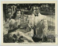 HEDY LAMARR Paul Porcasi 1939 ORIGINAL Lady Of The Tropics Photo J3876