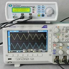 Digital DDS 2 Channels Signal Source Generator Arbitrary Waveform 25MHz US S9RP