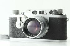 [N Mint] Leica IIIF Red Dial + Summicron 50mm 5cm F/1.2 Film Camera Japan 806
