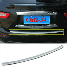 FIT For 2013-2015 Infiniti JX35/QX60 Stainless Rear Bumper Protector cover trim