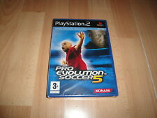 PRO EVOLUTION SOCCER 5 PES FUTBOL DE KONAMI PARA LA SONY PS2 NUEVO PRECINTADO