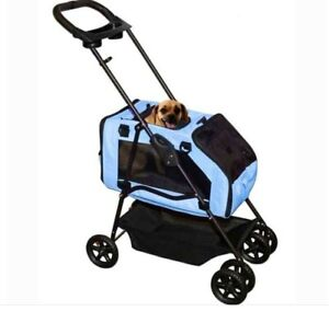 Pet Gear Travel System ll Pet Stroller for Cats and Dogs, Blue