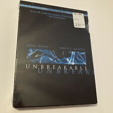 New listing M Night Shayamalan-Unbreakable-Gl ass Prequel-Bruce Willis-Samuel Jackson-New Dvd