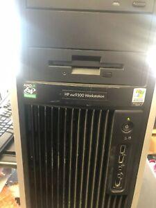 HP xw9300 Workstation 2x Dual Core AMD Opteron 2.2g 4GB RAM, 80GB, Win XP Pro