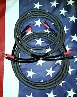 10 Gauge AWG Home Theater Audiophile Hifi Speaker Cable With Banana Plugs USA