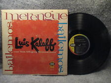 33 RPM LP Record Bailemos Merengues Luis Kalaff Seeco SCLP 9174