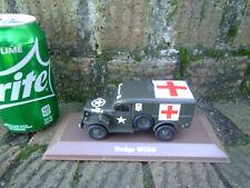 Atlas Edition Die-cast WWII US Army Dodge WC 54 Ambulance
