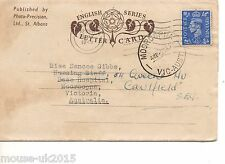 GB 1949 PHOTOGRAPHIC LETTER CARD TO AUSTRALIA WINDSOR MULTIVIEWS