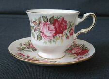 """Tea Cup and Saucer """"Queen Anne"""" English Fine Bone China from England #A 67 7"""