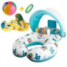 Baby Pool Float  Swim Toy with Mommy Ring